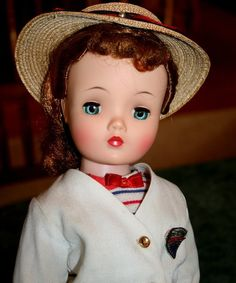 "Alexander 20"" Cissy 1950's tagged orig. outfit reddish hair excellent from ~ ATHENA'S COLLECTIBLES ~ found @ Doll Shops United http://www.dollshopsunited.com/stores/athena/items/1297045/Alexander-20-Cissy-1950s-tagged-orig-outfit-reddish #dollshopsunited"