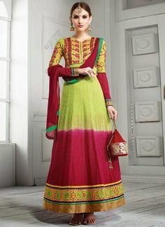 Exclusive Bridal Shalwar Kameez Designs 2015-16 For Young Brides (3)