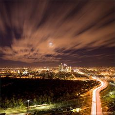 Moscow by night #travel #moscow #nightime