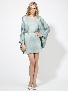 Sorokina Belted Silk Tunic Dress by Stylein on Gilt.com