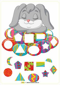 Easter Activities For Kids, Spring Crafts For Kids, Preschool Learning Activities, Language Activities, Math For Kids, Book Activities, Card Games For Kids, Easter Art, Classroom Decor