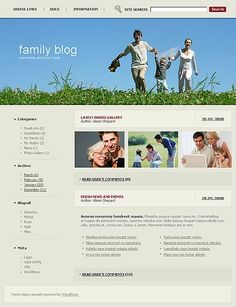 Kids Blog WordPress Themes by Delta