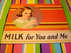 MILK for You and Me 1948 National Dairy Council , Ad. Booklet U. Of Chicago