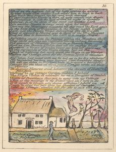 William Blake - final peice, love letters? Begging of a relationship?