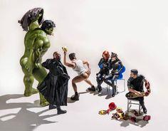 Art: la vita segreta dei giocattoli dei supereroi - Nerd Army