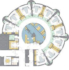 nurse station floor plan - Google Search