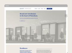 Small and Co Portfolio, Ascot Terraces Website