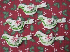 Christmas Partridge Bird Shrinky Dinks