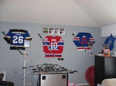 Boys Hockey Room Ideas | Gameroom the Guys - Boys' Room Designs - Decorating Ideas - HGTV Rate ...