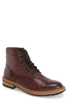 1901 'Collins' Cap Toe Boot (Men) available at #Nordstrom