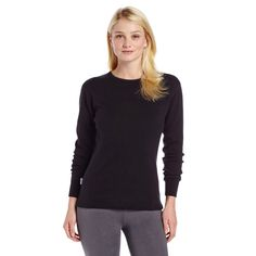 Minus33 Merino Wool Women's Tanana Expedition Crew, Black, Small. QUALITY EXPEDITION BASELAYER: 100% Merino Wool super soft and comfortable. Easy care technology means your merino wool is machine washable and dryable. Versatility and warmth make this merino wool crew neck thermal an essential part of your outdoor gear. CRAFTED TO FIT: Sizes XS to 3XL Minus33 offers a large size selection in a princess cut regular fit. Outfitting anyone from the Hard-at-Work to the Hard-at-Play…