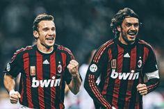 Sheva and Maldini Football Match, Football Players, Paolo Maldini, Legends Football, Ac Milan, Catania, Barcelona, Soccer, Milano