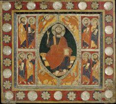 Frontal d'altar de Sant Romà de Vila   Museu Nacional d'Art de Catalunya