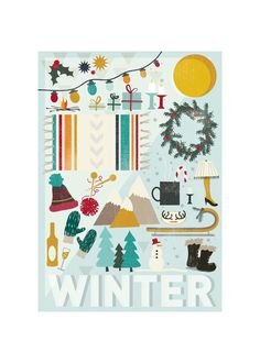 4 Seasons : Winter for Minted