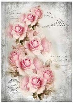 .guirnalda de rosas vintage