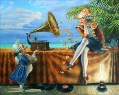 Teleportation by Michael Cheval