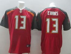 Nike Buccaneers  13 Mike Evans Red Team Color Men s Stitched NFL New Elite  Jersey Tampa 0b64c834237