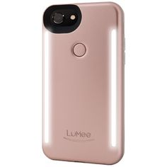 My best friend (who is notorious for posting nothing but selfies on Instagram) would love this. Next-level selfies, coming right up. The new LuMee case also has a backlight feature, which makes life so much easier.