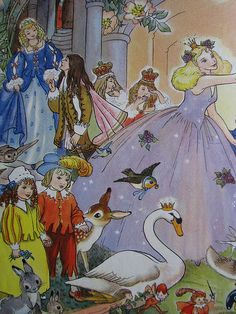 Hilda Boswell's Treasury of Fairy Tales 1989 Edition - Smithmark Publishers (first published 1962)