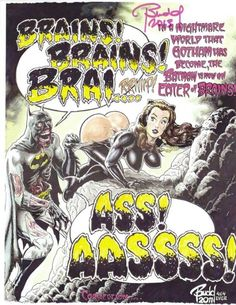 Zombie Batman by Budd Root