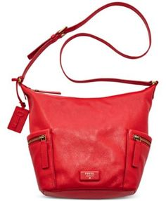 Fossil Emerson Leather Hobo
