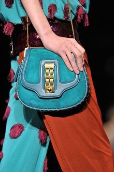 Louis Vuitton Spring 2012 - like that it doesn't look like Louis Vuitton ;)