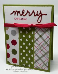 Klompen Stampers (Stampin' Up! Demonstrator Jackie Bolhuis): Search results for holly jolly greetings