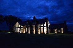 Private Villa - Scotland #facades #lighting #project #LED