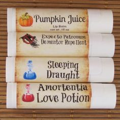 We've brought together 4 of the most amazing potions and concoctions from the wizarding world. Amortentia aka Love Potion a yummy blend of passion-fruit and rose. Sleeping Draught a comforting mix of