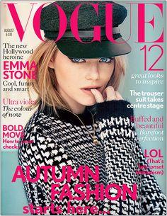 Emma Stone para Vogue