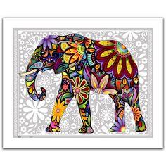 Пазл Pintoo 500 деталей: Веселый слон (H-1479)