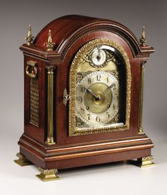 Antique mantel clock makers