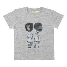 Soft Gallery Bass T-shirt Grey Melange Monkeytennis | www.littlesahou.com