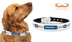 Kansas City Royals Dog Collar - Medium, 2015 World Series Champion
