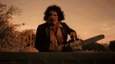 Pin for Later: Don't Look at These Horror Movie GIFs With the Lights Off The Texas Chain Saw Massacre (1974) DRIVE FASTER, PLEASE.