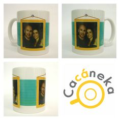 Caneca personalizada Cacáneka cacaneka foto casal