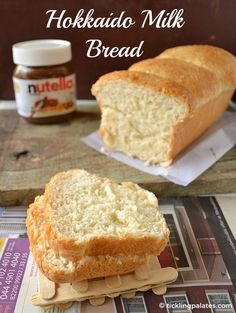 Hokkaido Milk Bread / Eggless Milk Bread (using Tangzong Method)   ticklingpalates.com #bread #yeastbread #whitebread
