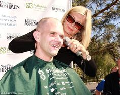 'Brave a shave'! The social media tagline 'brave a shave' seemed appropriate for hotel wor...