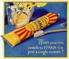 New Ipana toothpaste