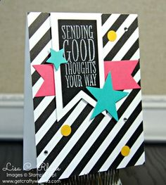 Sending Good Thoughts...with Stripes!
