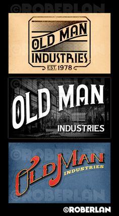 Old Man Industries logos