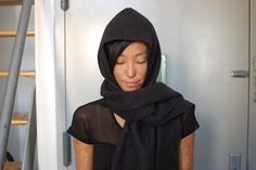 Hooded wrap sewing project #DIY Can't wait to make this!