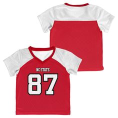 NCAA NC State Wolfpack Boys' Athletic Jersey - 4T, Toddler Boy's, Blue