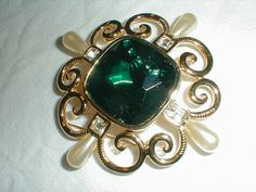 vintage sandra miller burrows brooch smb by qualityvintagejewels