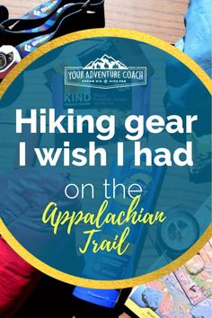 Find out the 4 pieces of hiking gear I wish I brought with me when I started my long distance backpacking trip on the Appalachian Trail. Most of these are small and inexpensive items – but they can make all the difference in your daily life while hiking. #appalachiantrail #backpackinggear #hikingtips