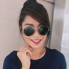 Ang ganda I love you ate goodnight!!! Support kita, we're always here for you @RivaQuenery_ Cat Eye Sunglasses, Sunglasses Women, Boyfriend Names, Star Magic, My Idol, Bangs, Love, Fashion, Fringes