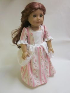 18 inch American Girl Doll Clothes Felicity by IndustriousDog, $13.00