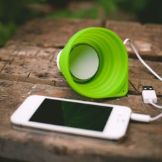 The Collapsible Speaker You'll Want To Drink Out Of