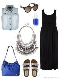 WEEKEND WISHLIST: BLACK & BLUE - DIY FATSHION