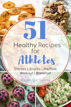 If you're looking for healthy snacks for athletes or some ideas for meals for athletes, this post is for you! I've compiled a complete list of breakfasts for athletes, healthy meals for athletes and snacks for athletes in this all-encompassing roundup Post Workout Breakfast, Post Workout Snacks, Breakfast Snacks, Pre Workout Snack, Easy Healthy Recipes, Whole Food Recipes, Healthy Snacks, Eat Healthy, Healthy Choices